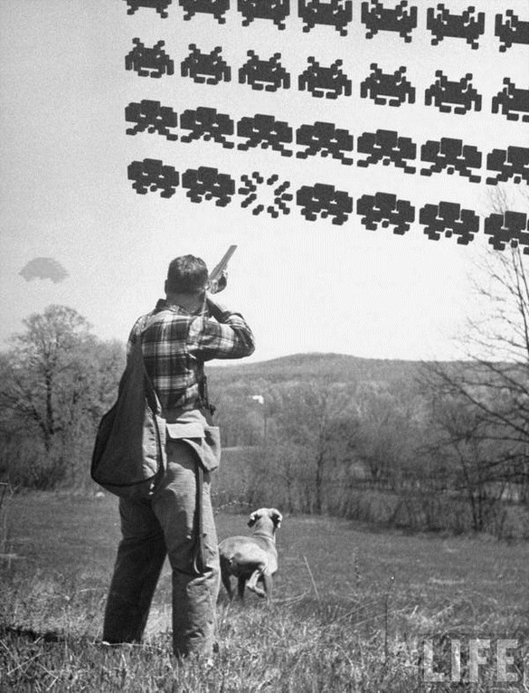 space-invaders-hunting-dog-rifle-fun
