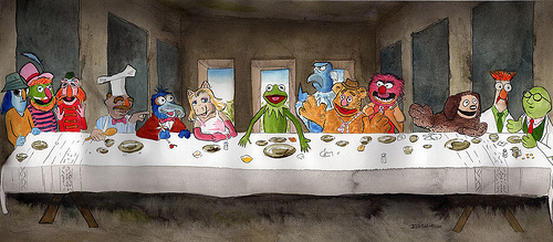 muppets-last-supper