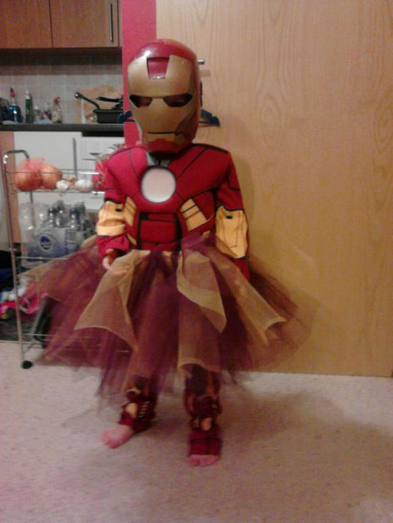 Iron Woman disguise