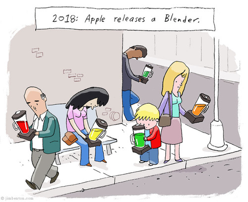 apple release a blender 2018