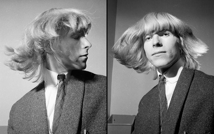 Portrait de david Bowie en 1965