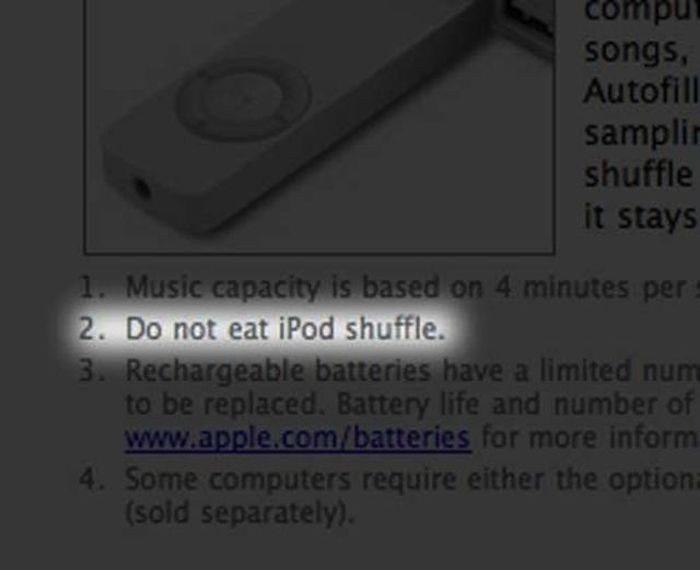 comment utiliser un iPod Shuffle instructions