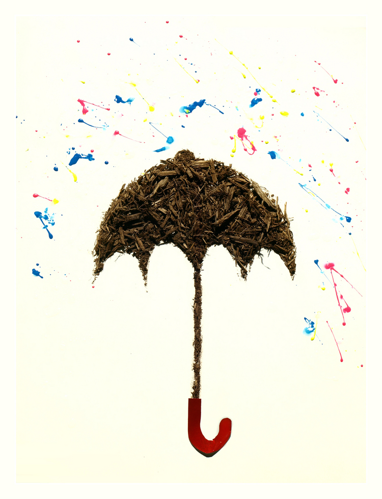 umbrella dirty