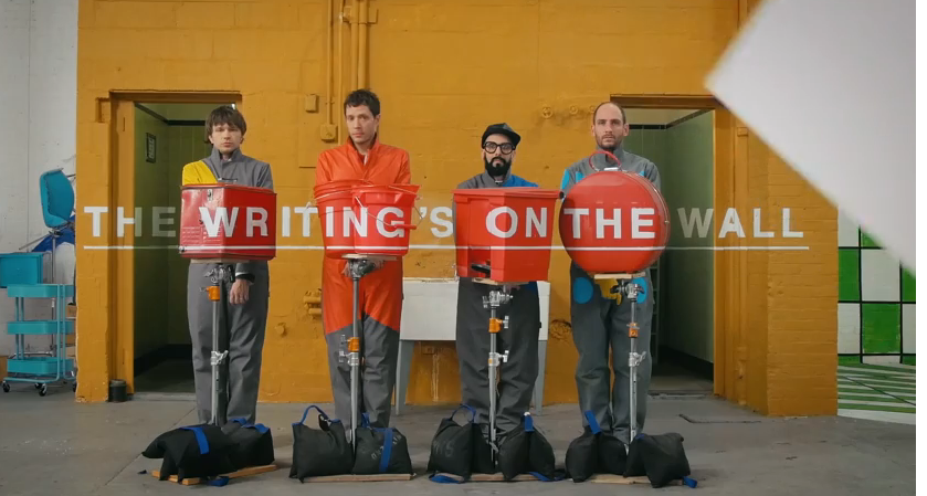 ok go dernier clip the writing on the wall